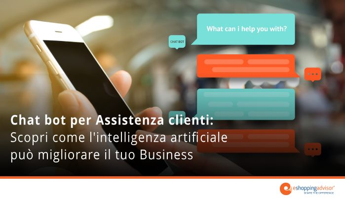 chat bot assistenza clienti ecommerce